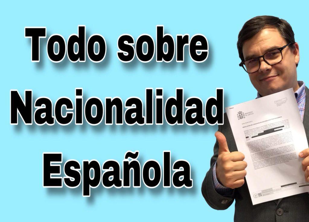 Todo sobre nacionalidad española